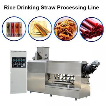 New Eco Friendly Disposable Tapioca Biodegradable Drinking Rice Straw Machine
