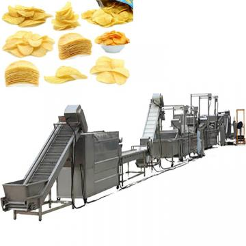 Commercial Used Stainless Steel 304 Frozen French Fries Making Machine Potato Chips Production Line