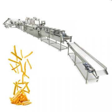 100/200/300/500/1000kg Per Hour Frozen French Fries Processing Machine Potato Chips Production Line