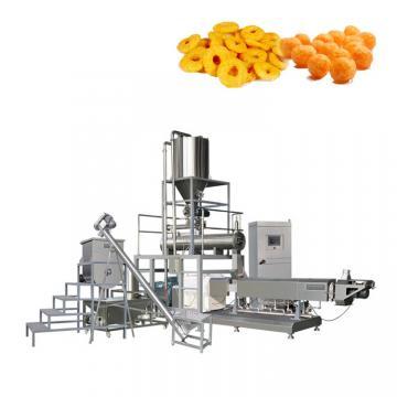 Industrial Automatic Best Price Professional Corn Curls Kurkure Cheetos Nik Naks Corn Puff Snacks Food Extruder Machine Electric Gas Popcorn Making Machine