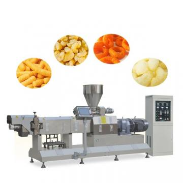 Fully Automatic 3D Pellets Fried Puffed Snack Food Making Machine
