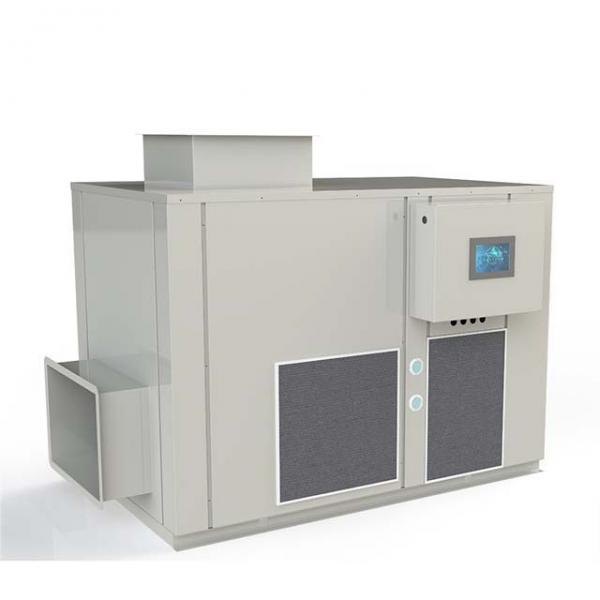 Microwave Continuous Tunnel Type Tray Tunnel Dryer #1 image