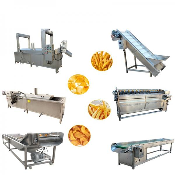 Hot Sale Potato Chips Crisps Making Machine/Frozen French Fries Frying Making Machine #1 image