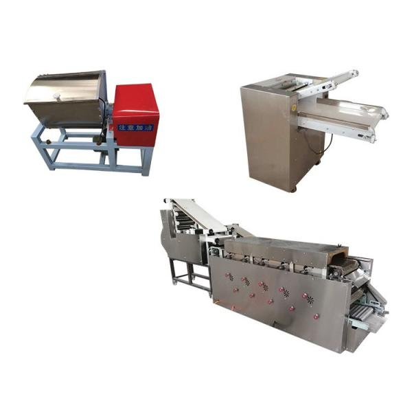 Middel East Fully Automatic Kulcha Tortilla Roti Chapathi Making Machine #1 image